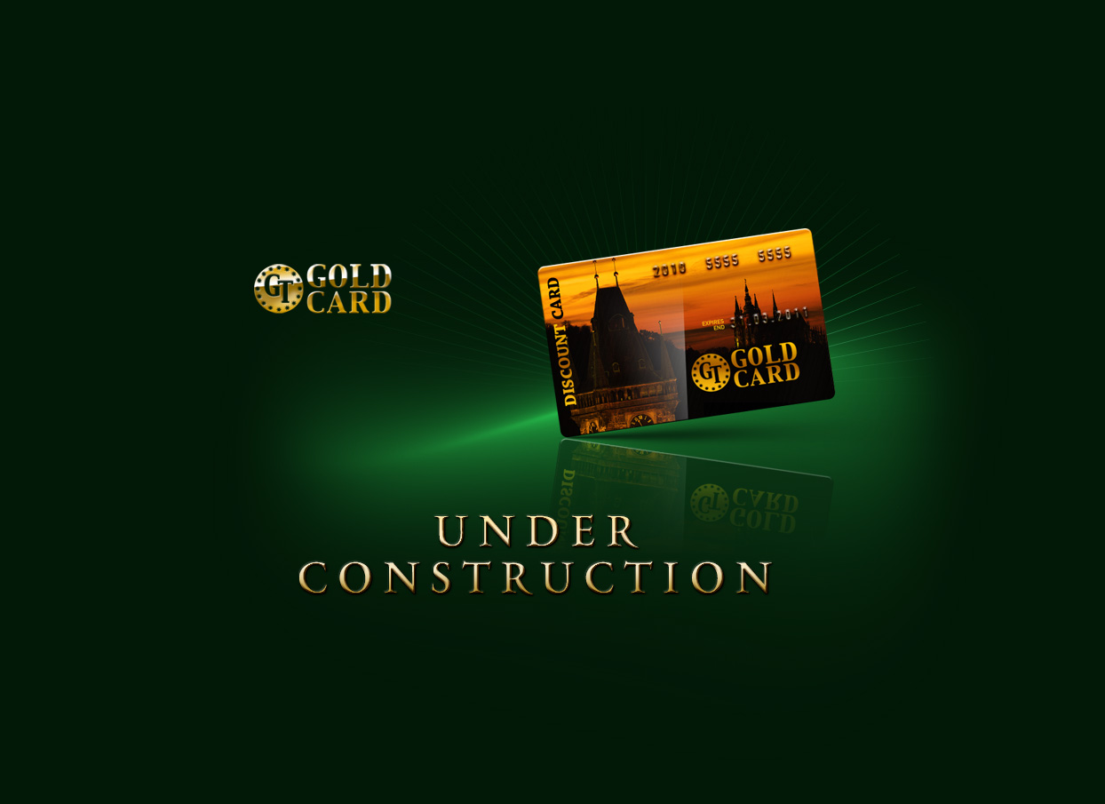 Discount card GT GOLD CARD